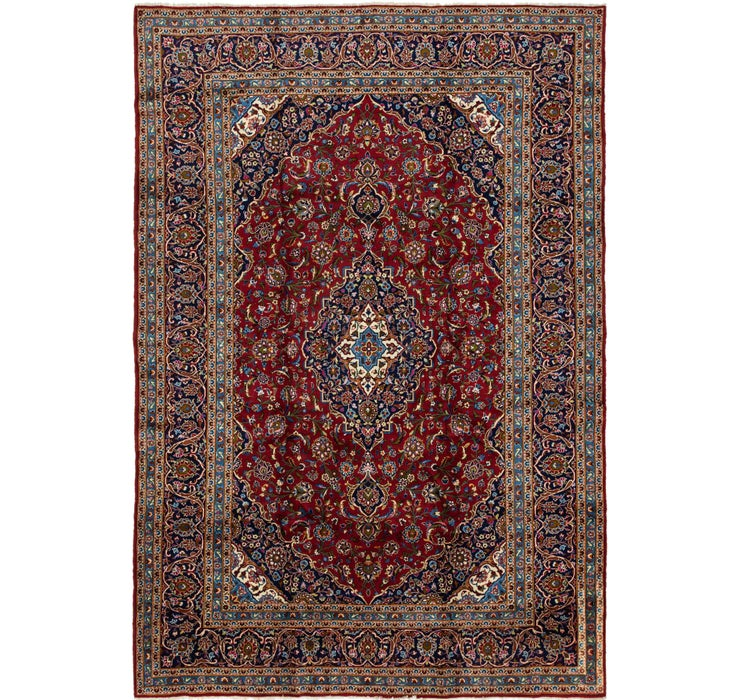 287cm x 422cm Kashan Persian Rug