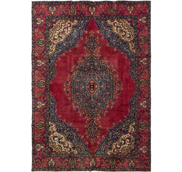 270cm x 380cm Tabriz Persian Rug