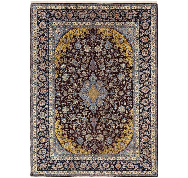 9' 2 x 13' 1 Isfahan Persian Rug