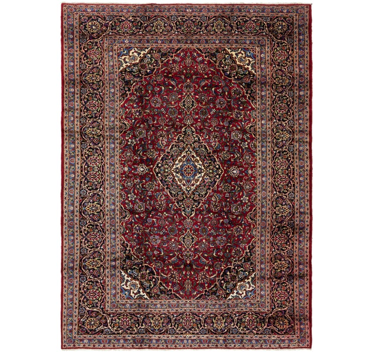 295cm x 420cm Kashan Persian Rug