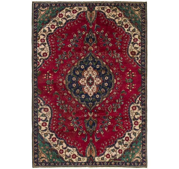 185cm x 282cm Tabriz Persian Rug
