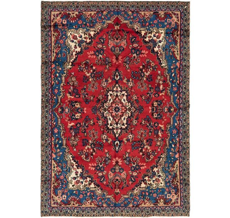6' 7 x 9' 8 Shahrbaft Persian Rug