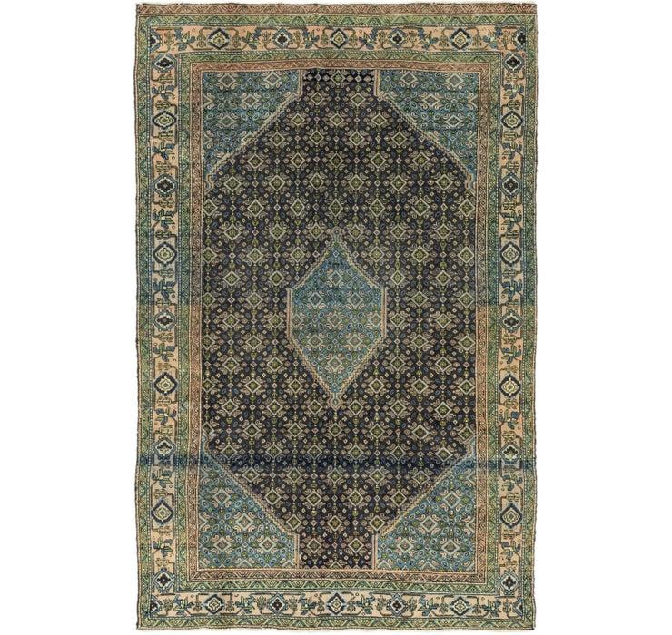 183cm x 285cm Sanandaj Persian Rug
