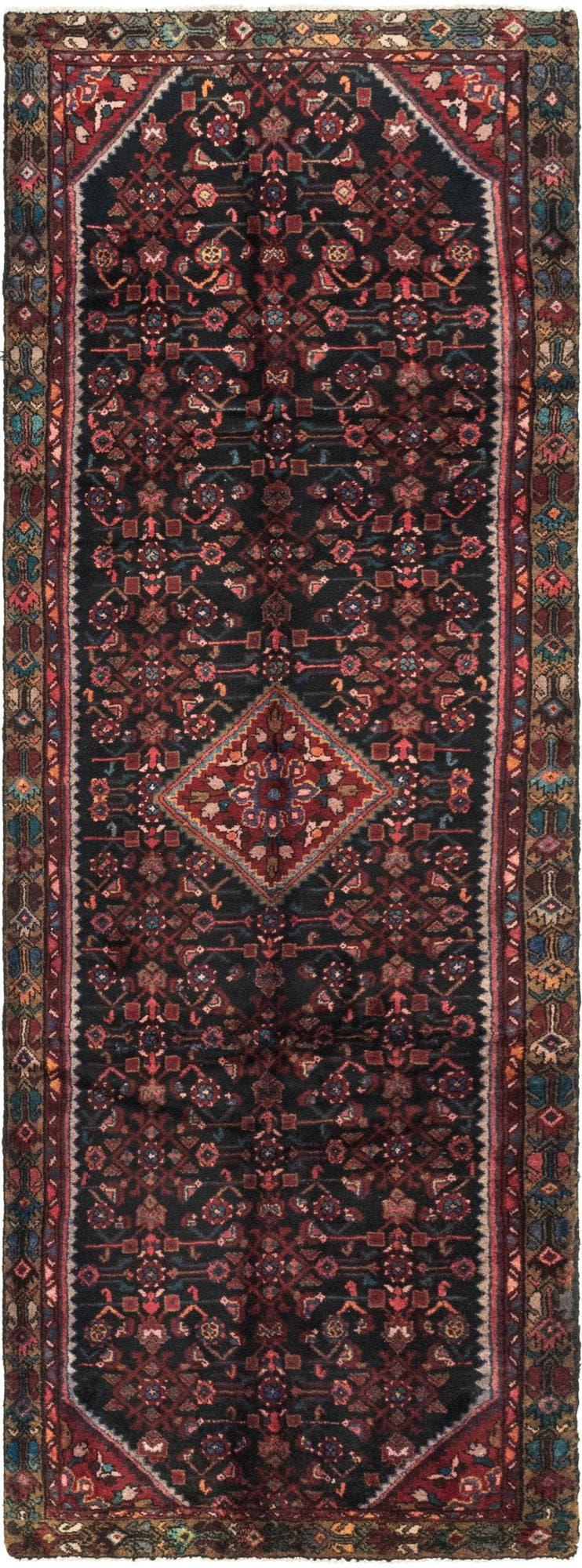 3' 4 x 10' 2 Hossainabad Persian Runner Rug main image