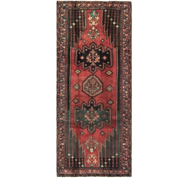 Image of 4' x 9' 9 Mazlaghan Persian Runne...