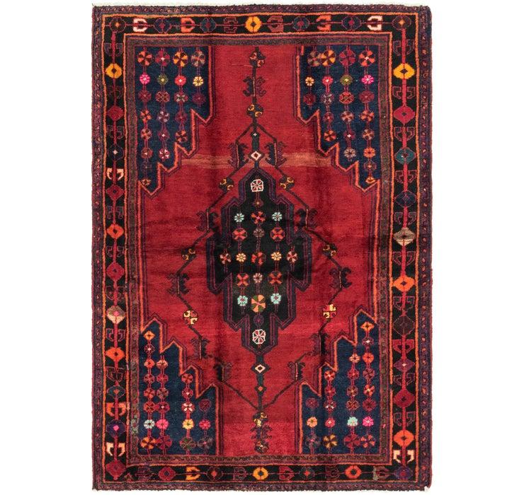 152cm x 220cm Mazlaghan Persian Rug