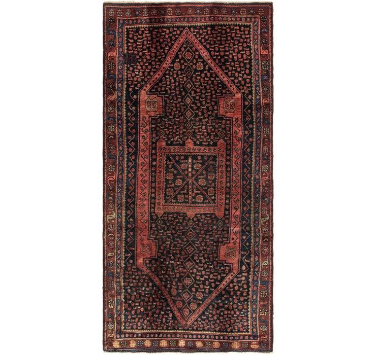 152cm x 328cm Zanjan Persian Runner Rug