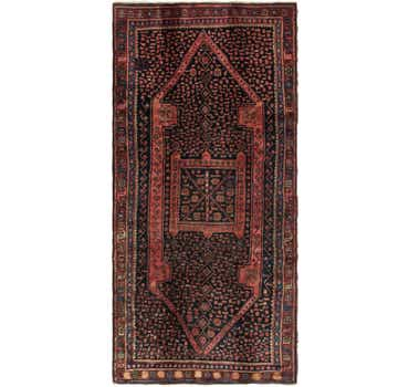 Image of 5' x 10' 9 Zanjan Persian Runner Rug