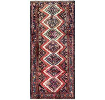 Image of 3' 7 x 8' 2 Chenar Persian Runner Rug