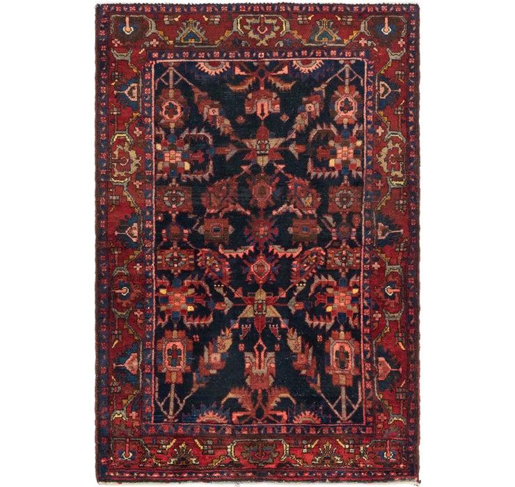 137cm x 205cm Nahavand Persian Rug