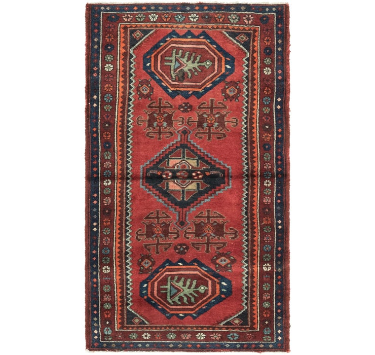 3' 2 x 5' 7 Zanjan Persian Rug