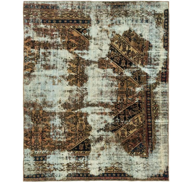 6' 6 x 8' 2 Ultra Vintage Persian Rug