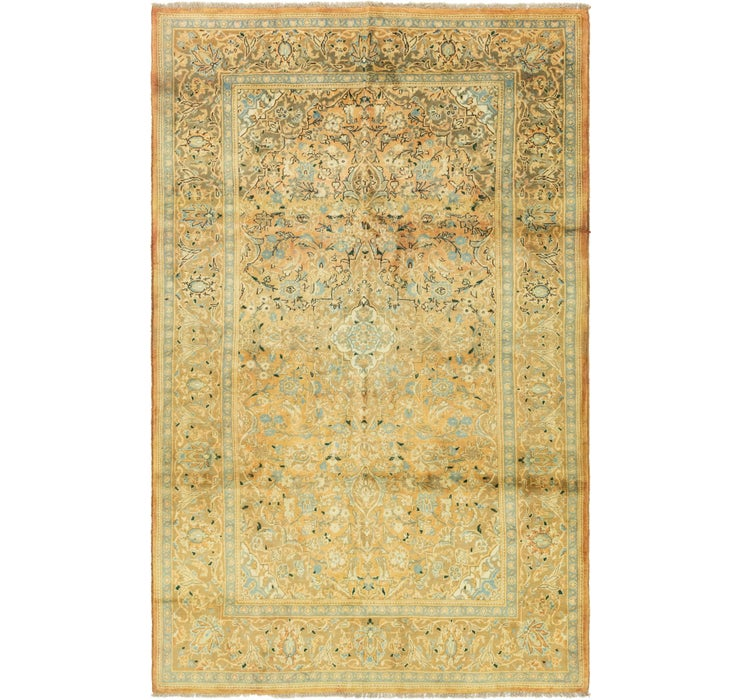 6' 3 x 10' 2 Sarough Persian Rug