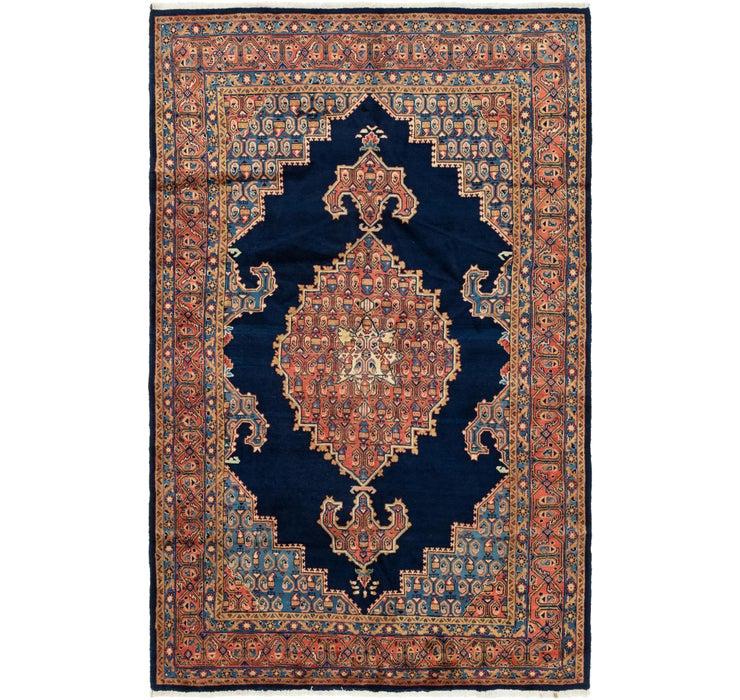 193cm x 305cm Golpayegan Persian Rug