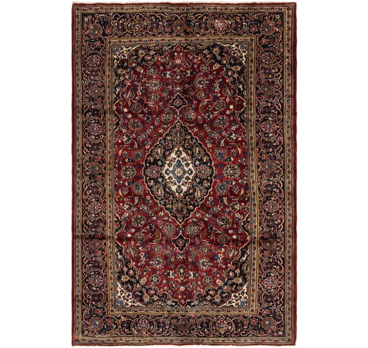 200cm x 305cm Kashan Persian Rug