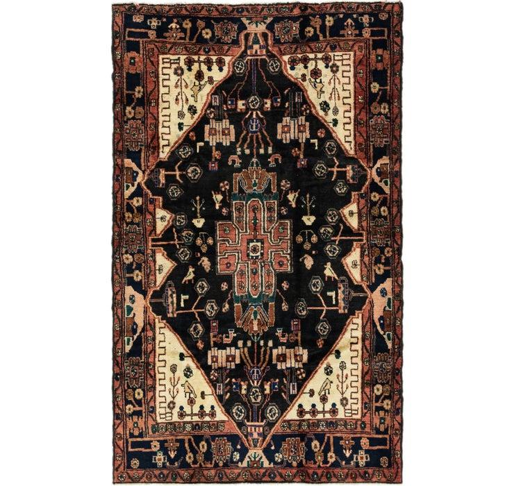 5' 2 x 8' 6 Nahavand Persian Rug