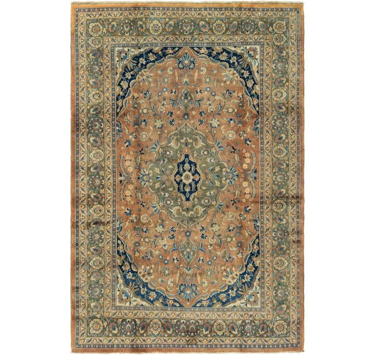 6' 10 x 10' 3 Mashad Persian Rug