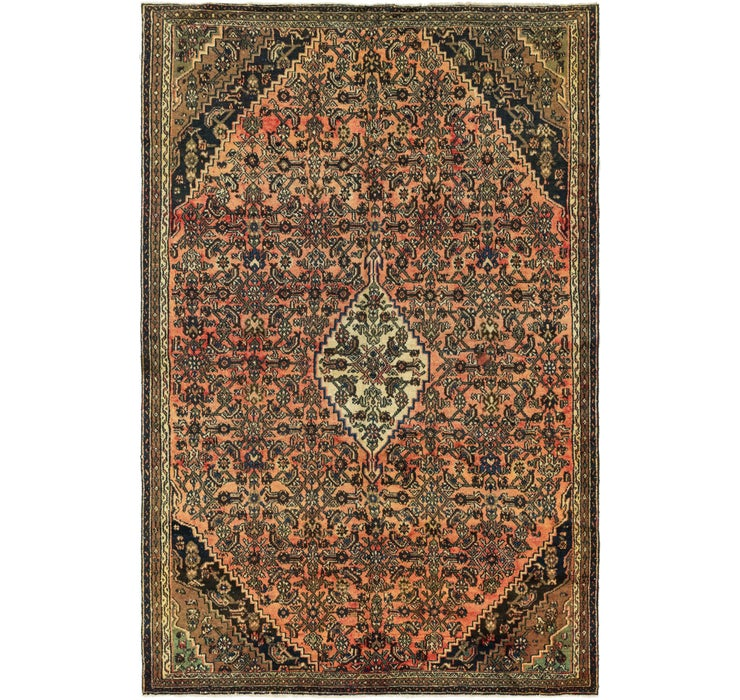 200cm x 315cm Hamedan Persian Rug