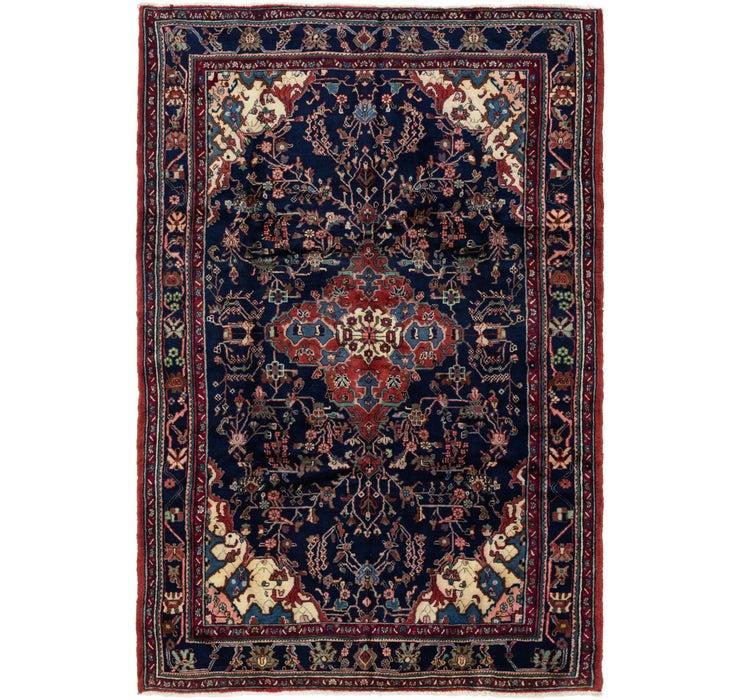 213cm x 320cm Hamedan Persian Rug