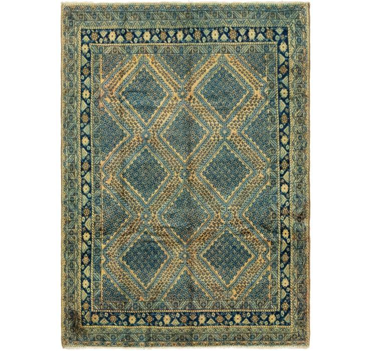 6' 3 x 9' Golpayegan Persian Rug