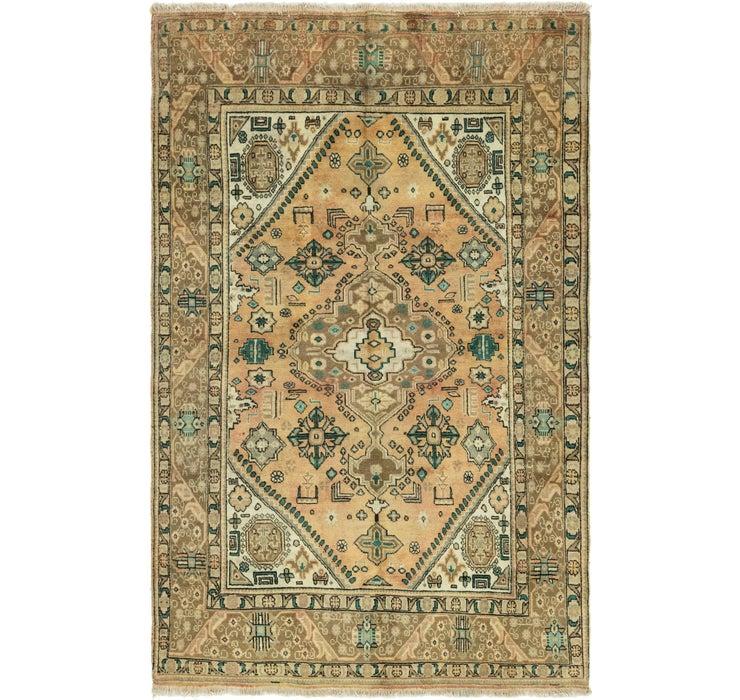 193cm x 307cm Tabriz Persian Rug