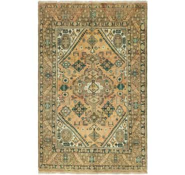 Image of 6' 4 x 10' 1 Tabriz Persian Rug