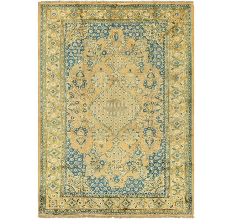 225cm x 310cm Golpayegan Persian Rug