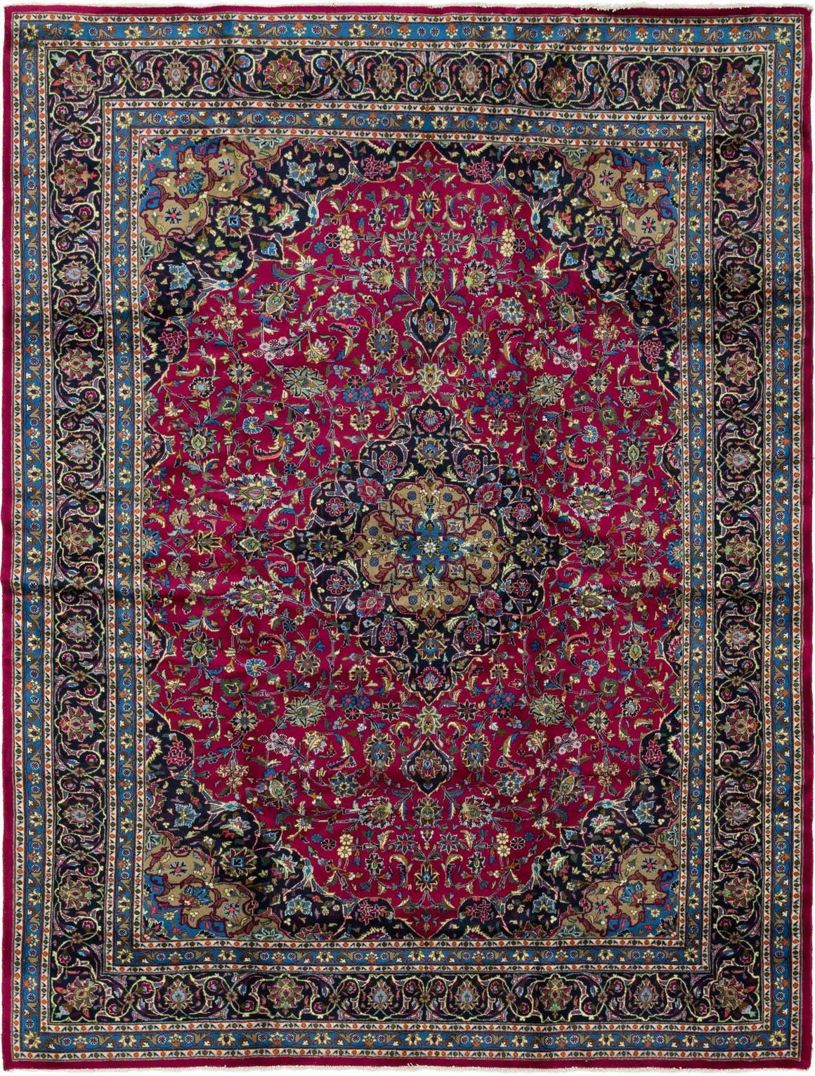 9' 9 x 13' Mashad Persian Rug main image