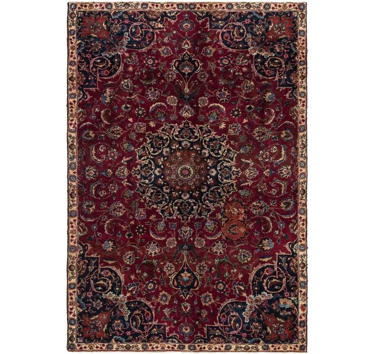 183cm x 262cm Mashad Persian Rug