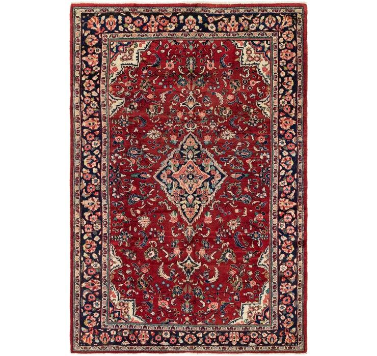 6' 8 x 10' Meshkabad Persian Rug