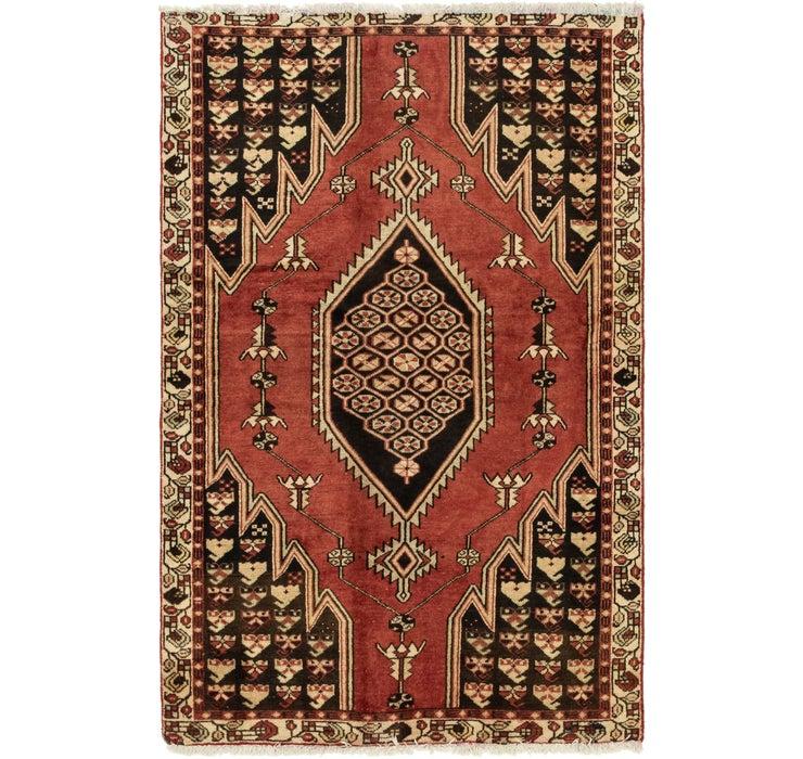 122cm x 193cm Mazlaghan Persian Rug