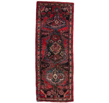 Image of 3' 9 x 10' Viss Persian Runner Rug