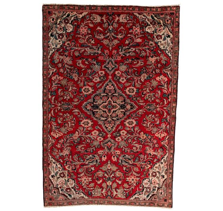 6' 7 x 9' 10 Meshkabad Persian Rug