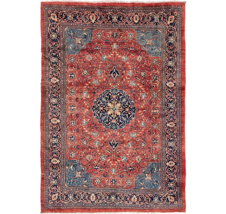 Image of 7' 6 x 10' 10 Farahan Persian Rug