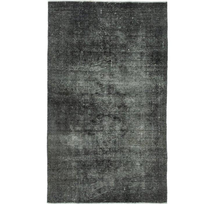 4' 8 x 8' Ultra Vintage Persian Rug