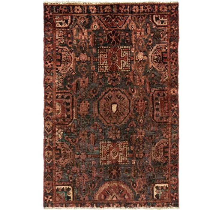 4' 1 x 6' 2 Bakhtiar Persian Rug