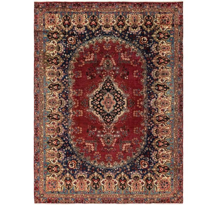 267cm x 365cm Yazd Persian Rug
