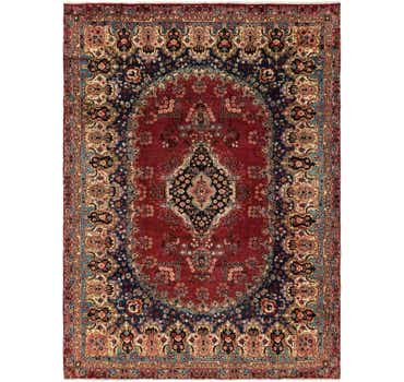 Image of 8' 9 x 12' Yazd Persian Rug