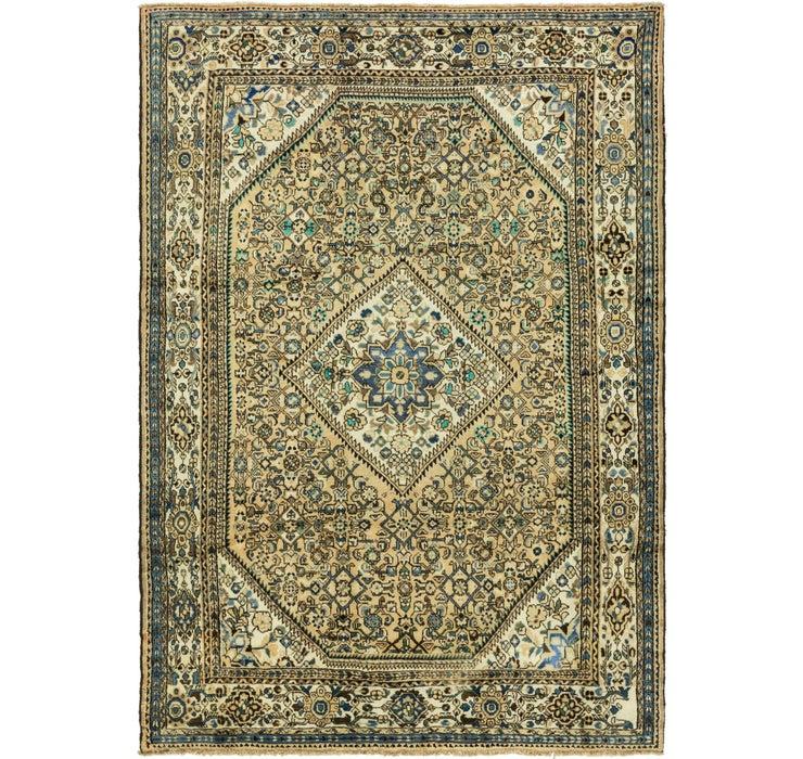 7' 6 x 11' Hossainabad Persian Rug