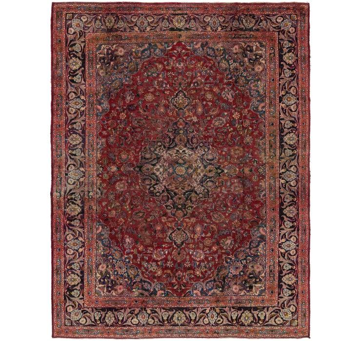 290cm x 380cm Mashad Persian Rug