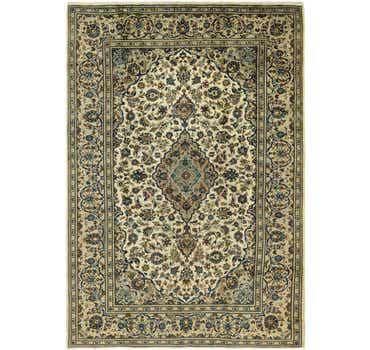 7' 10 x 11' 6 Kashan Persian Rug