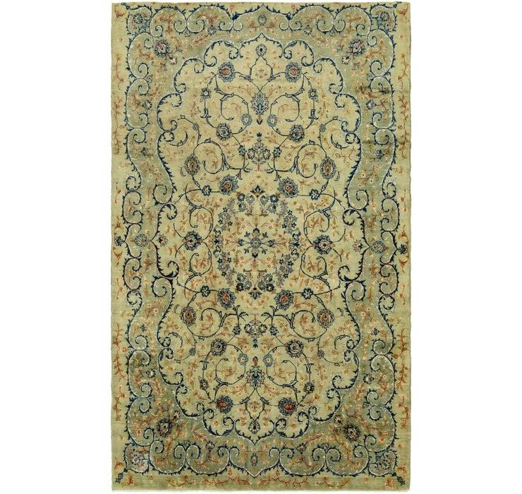 8' x 13' 10 Kashan Persian Rug