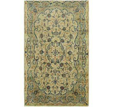 Image of 8' x 13' 10 Kashan Persian Rug