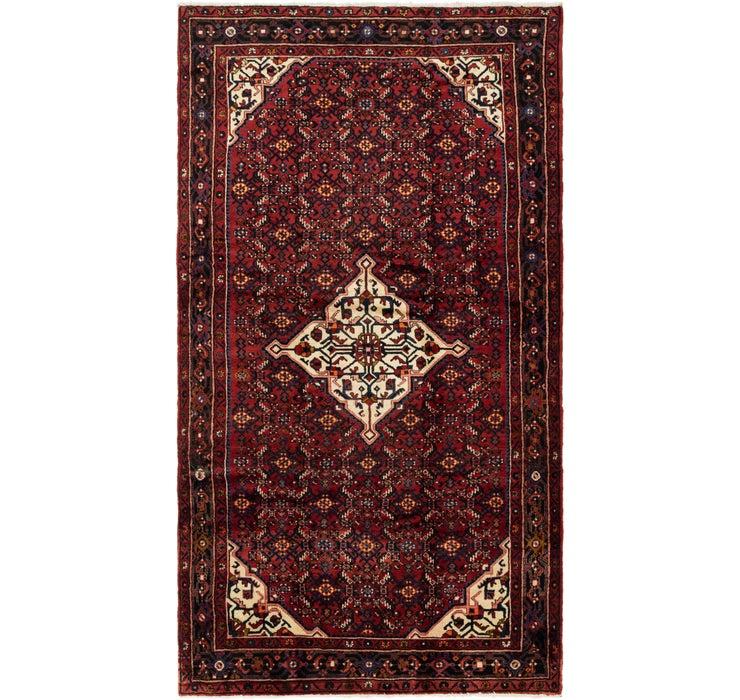 173cm x 315cm Hossainabad Persian Rug