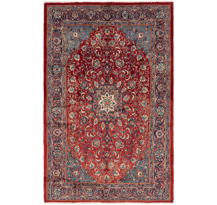 208cm x 325cm Sarough Persian Rug