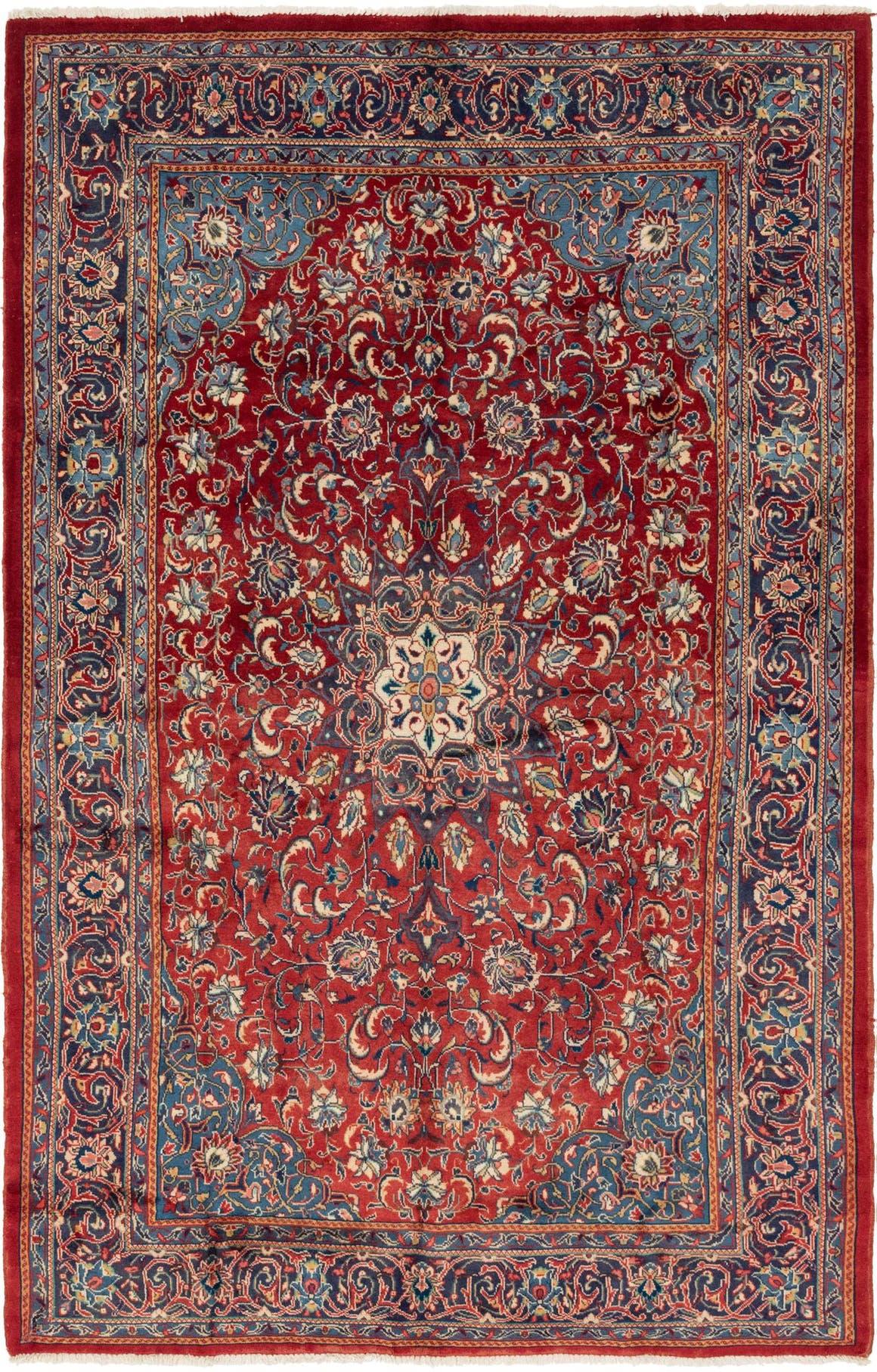 6' 10 x 10' 8 Sarough Persian Rug main image