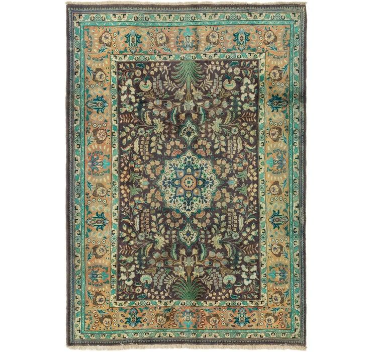 198cm x 285cm Tabriz Persian Rug