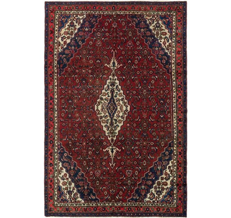 198cm x 300cm Hamedan Persian Rug