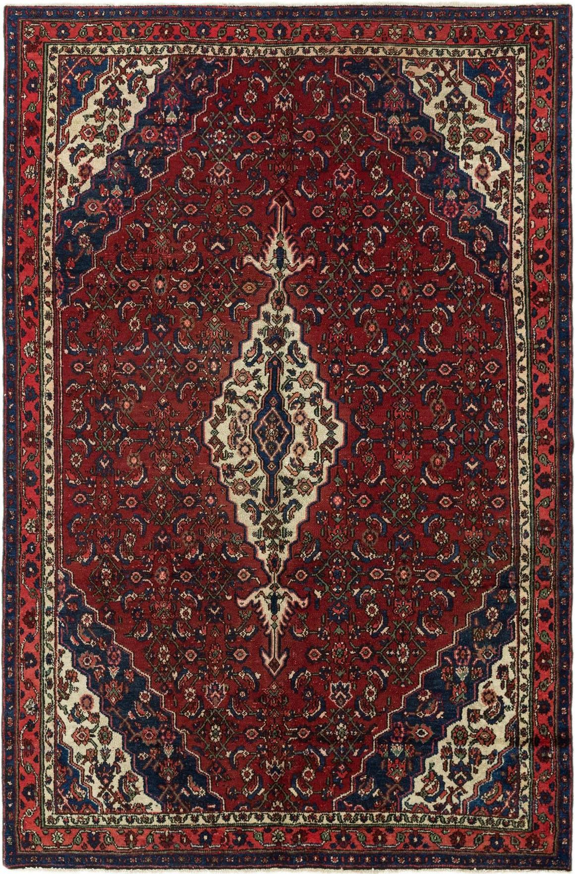 198cm x 300cm Hamedan Persian Rug main image