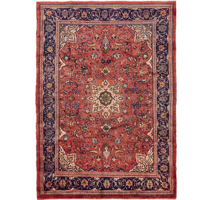 7' 3 x 10' 2 Farahan Persian Rug